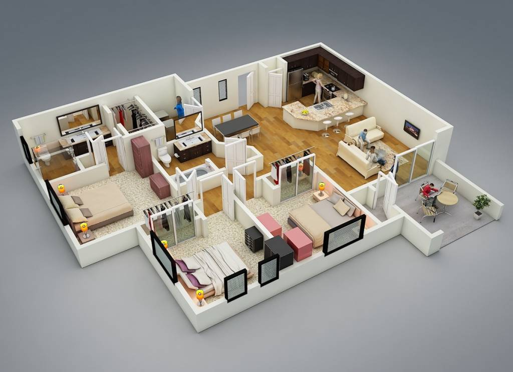 mau-nha-1-tang-17-3-bedroom-layout-1024x742