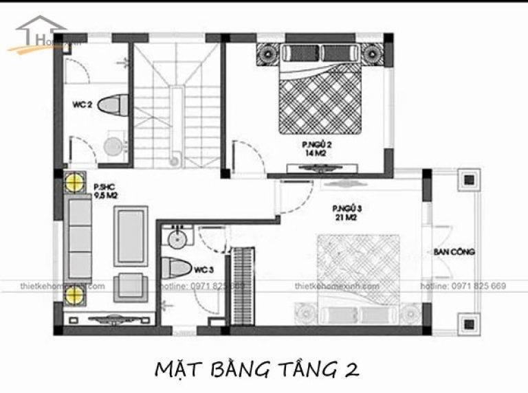 mau-nha-ong-4-tang-mai-thai-ban-ve-tang-2-thiet-ke-nha-pho-mat-tien-8m-768x572