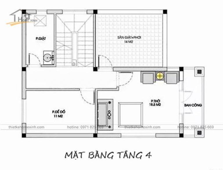 mau-nha-ong-4-tang-mai-thai-ban-ve-tang-4-thiet-ke-nha-pho-mat-tien-8m-768x586