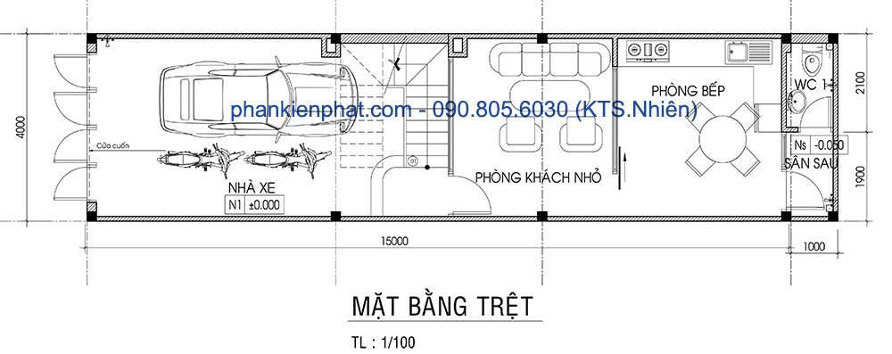 mau-nha-lech-tang-4x16-mat-bang-tret-4074